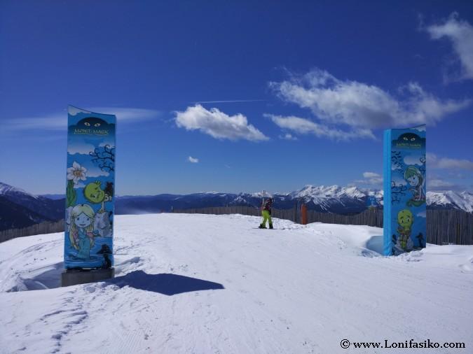 Esquí para niños en Grandvalira Mont Magic