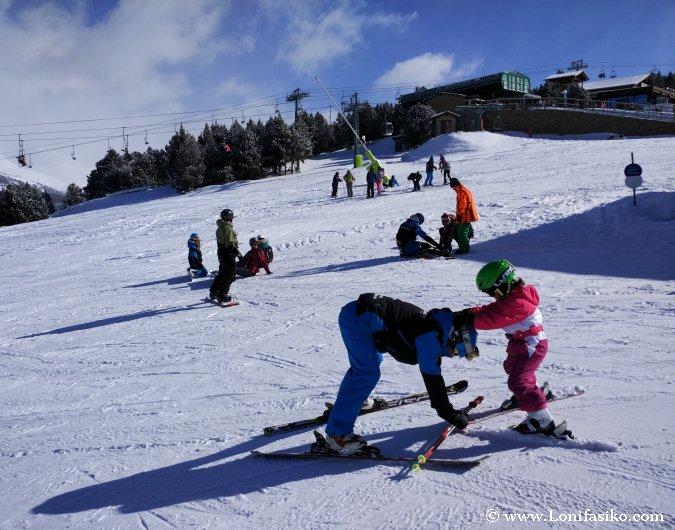 Clases esquí Grandvalira Andorra