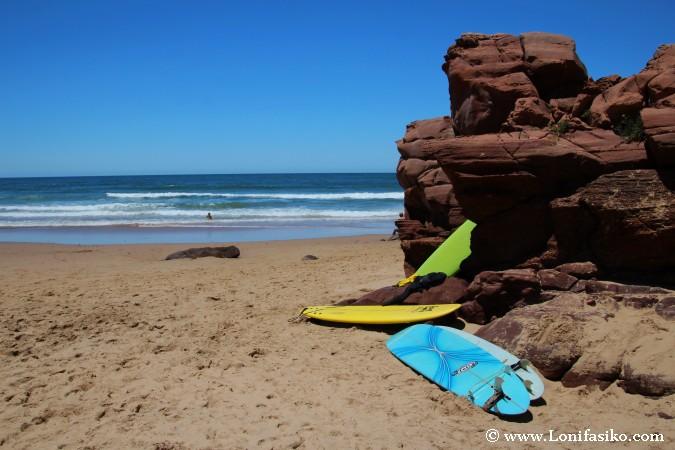 Carrapateira Playa Amado Surf Praia