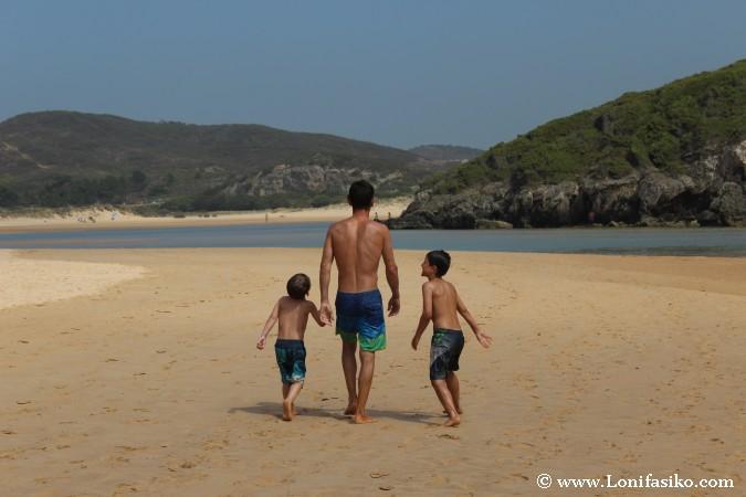 Costa Vicentina con niños