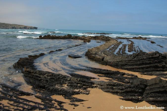 Flysch Portugal Geologia Fotos