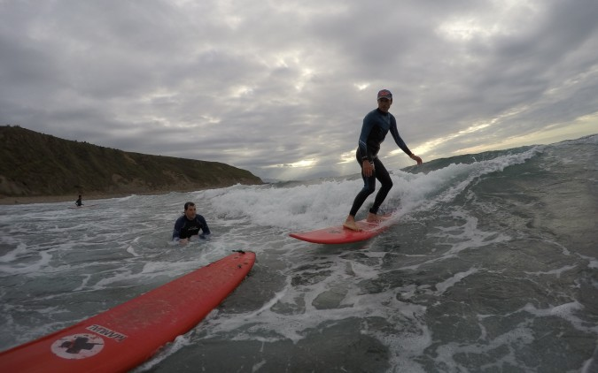 Curso Iniciación surf Euskadi Costa Vasca