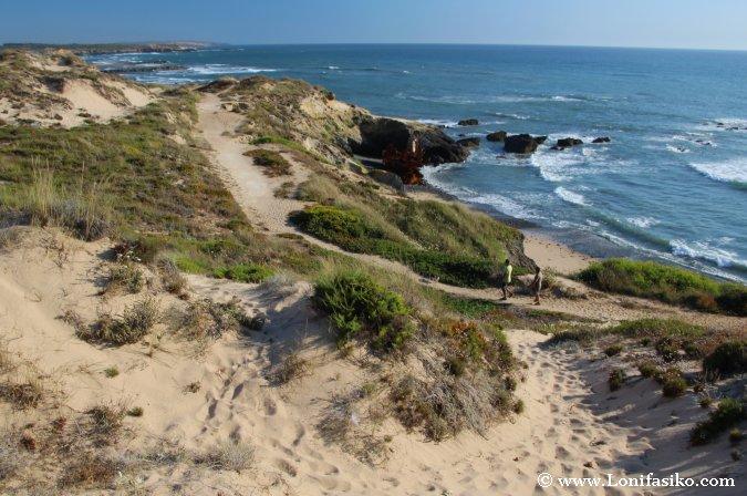 Praia Patacho Barco Fotos Vila Nova de Milfontes