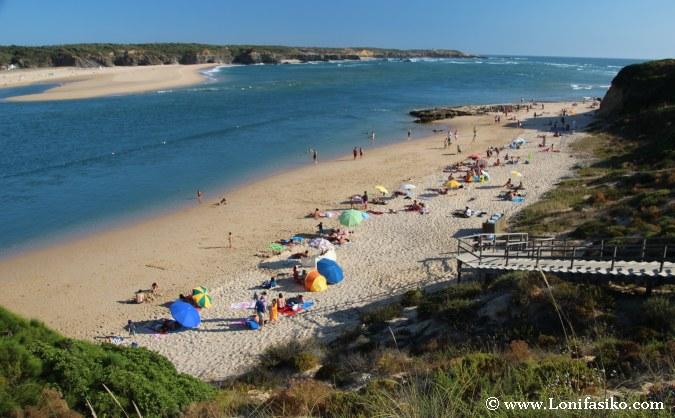 Vila Nova de Milfontes Playas Portugal Fotos