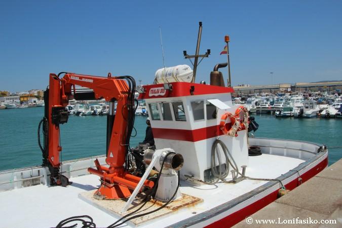 Barco de almadraba