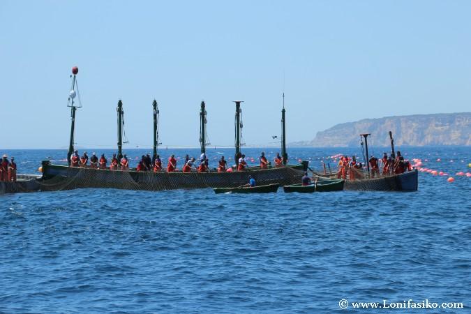Pesca atún rojo almadraba Cádiz
