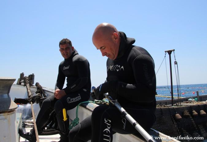 Pesca atún rojo almadraba barbate