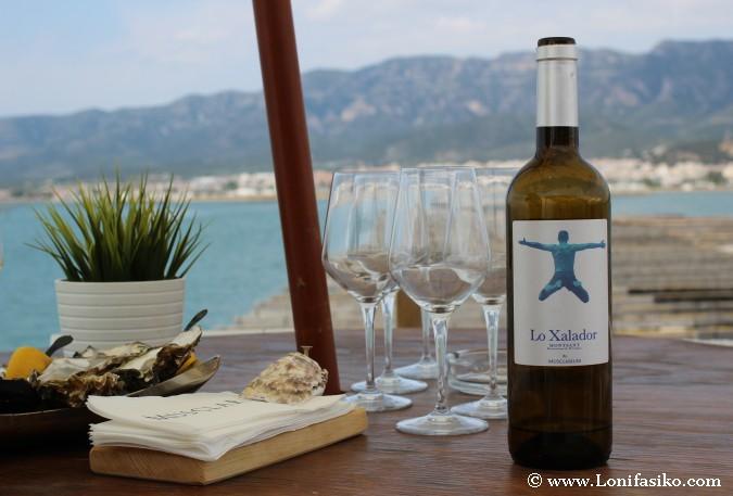 Lo Xalador Musclarium vino blanco Montsant