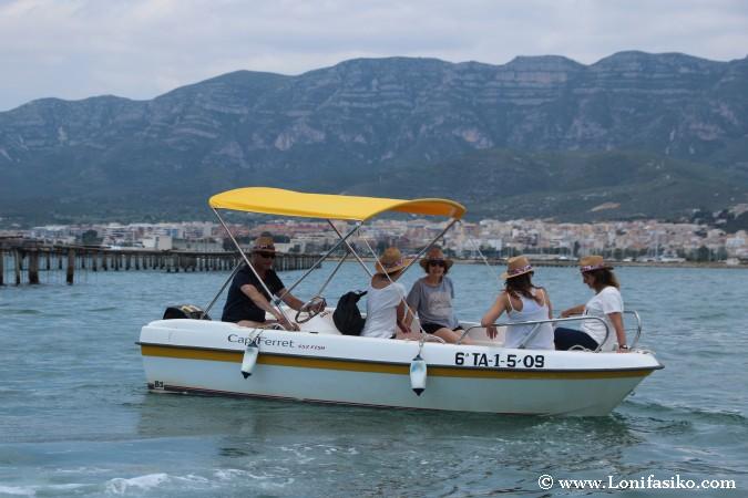 Musclarium en barco