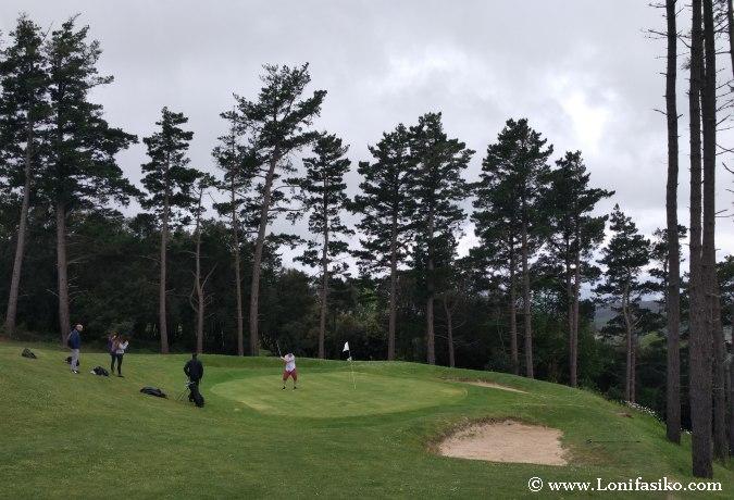 Euskadi campos de golf bonitos