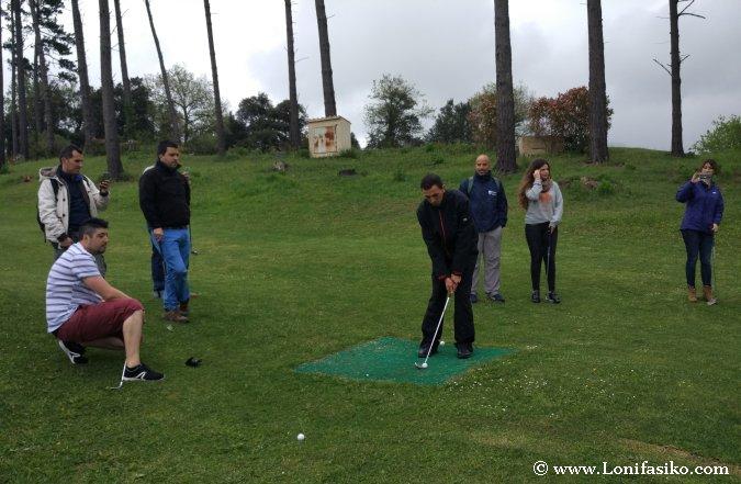 Curso golf Palacio Urgoiti