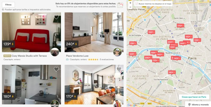 Airbnb reserva directa