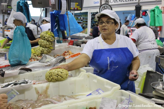 marisco galicia fotos mercado