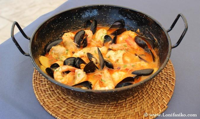 Suquet pescado Terres de l'Ebre Gastronomia