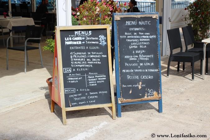 Dónde comer en Les Cases d'Alcanar
