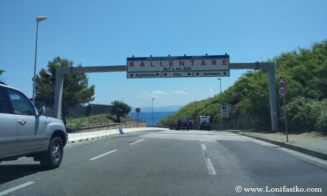 Isla Elba desde Piombino