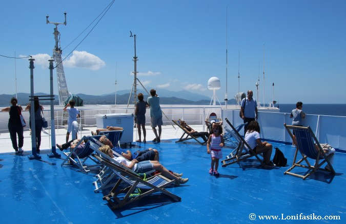 Ferry isla Elba