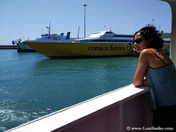 Ferrys a la isla de Elba