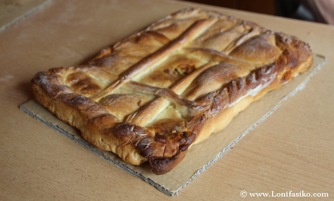 Empanada carne fotos Asturias