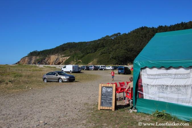 Chiringuito Playa de La Cueva Asturias Fotos
