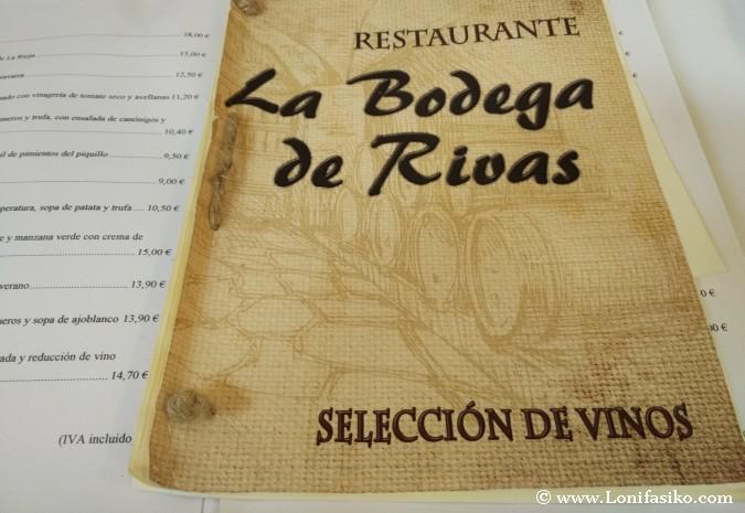 La Bodega de Rivas vinos
