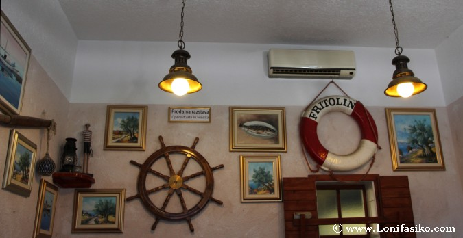 Portoroz Restaurantes Fritolin Pescado