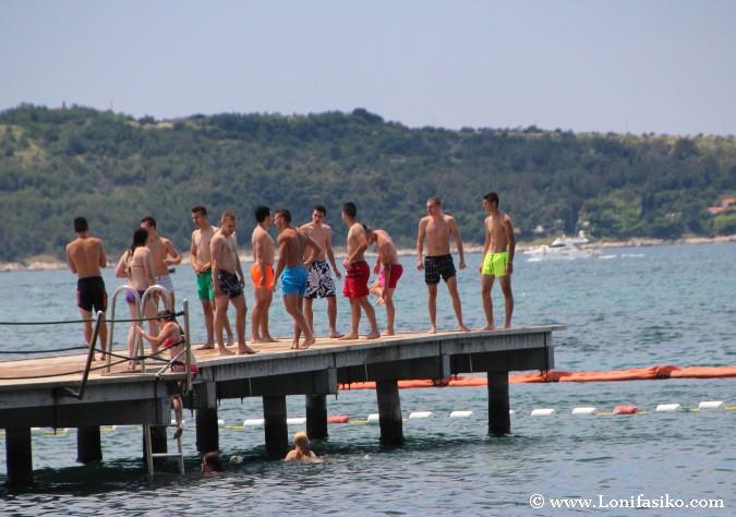 Portoroz playas eslovenia fotos fiesta