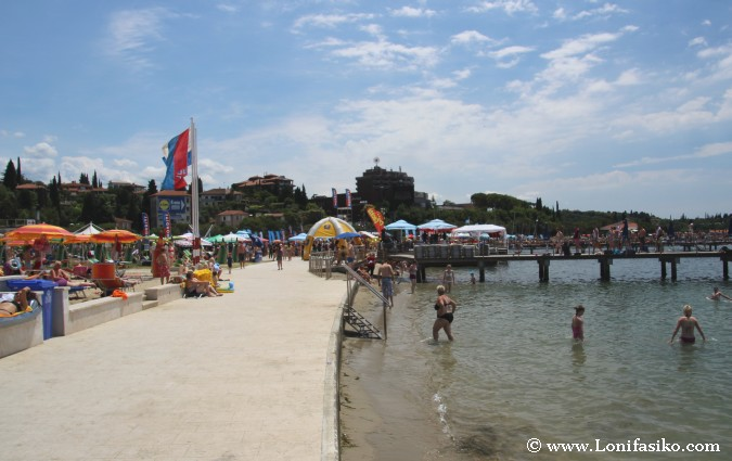 Portoroz playa Eslovenia Fotos