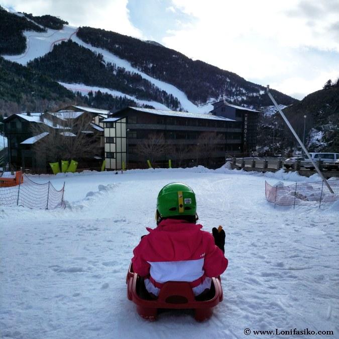 Andorra esqui con ninos Grandvalira