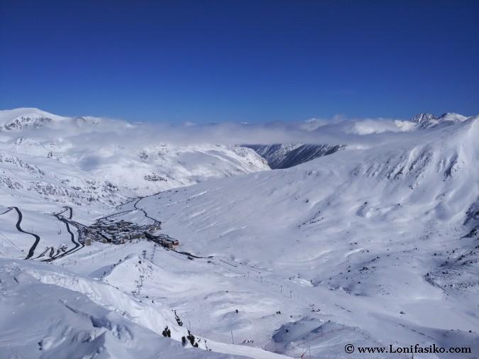 estaciones esqui pirineos fotos