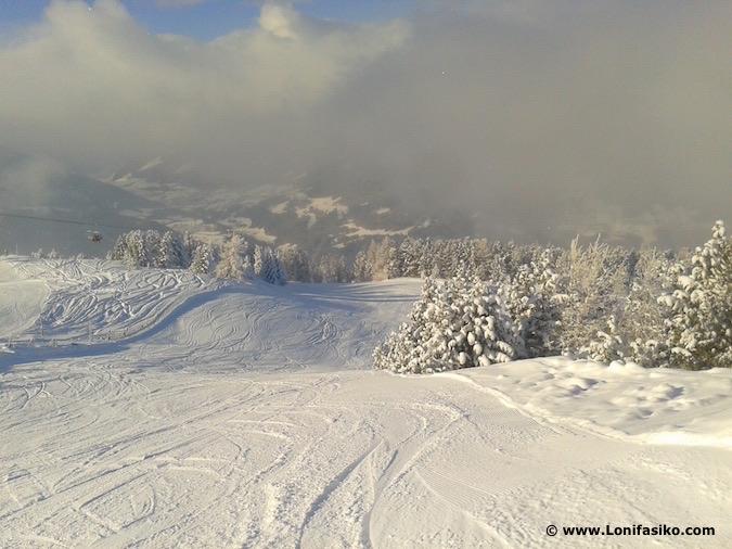 Fotos paisajes nevados Alpes