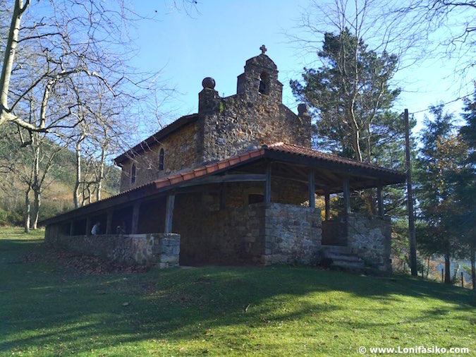 Ermita San Lorentzo Baltzola Dima