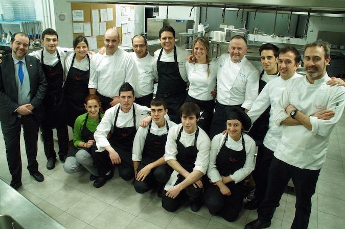 Equipo chefs Gure Sukalkintza