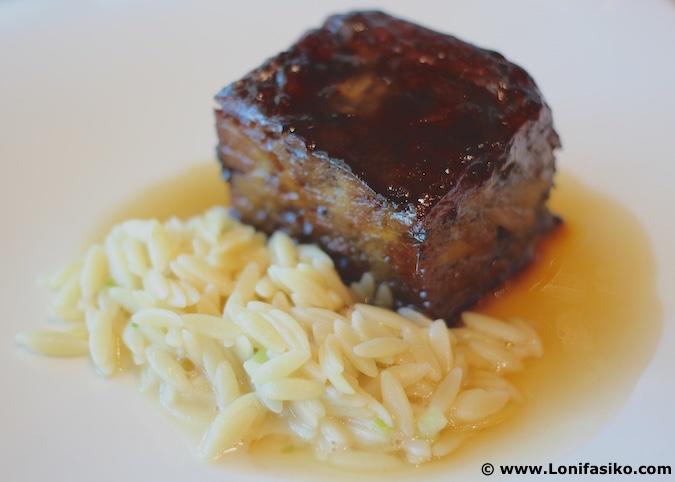 Bistró Guggenheim Bilbao restaurante menú degustación fotos