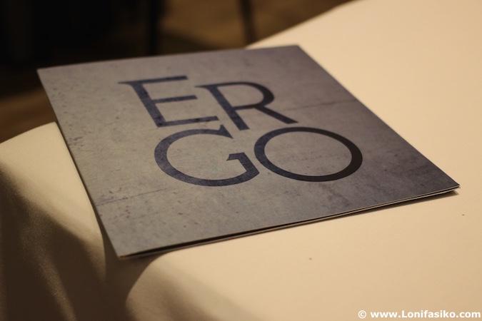 Ergo Restaurante Menu Miranda de Ebro fotos