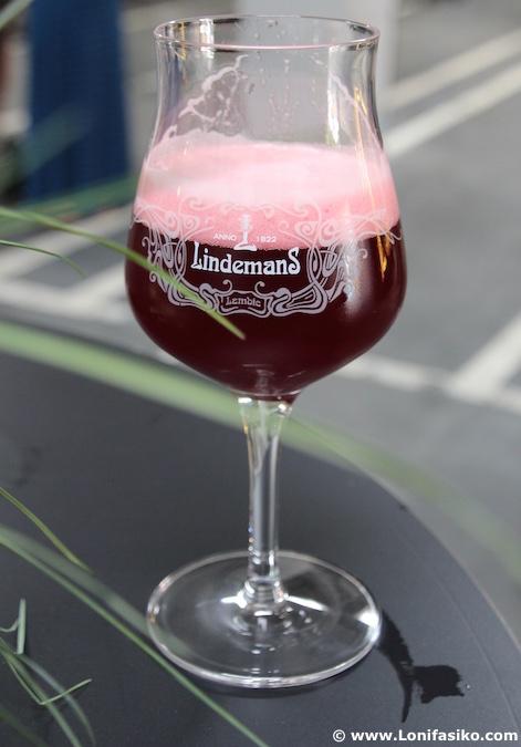 Lindemans Kriek beer lambic