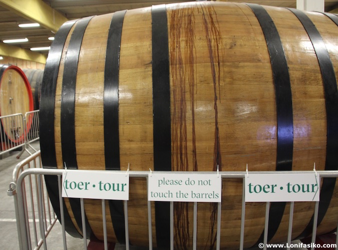 Barricas de cerveza Flandes