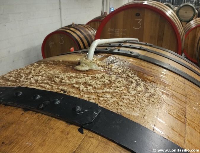 3 Fonteinen lambic beer barrels