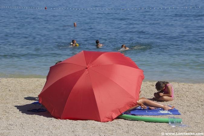 fotos playas croacia trogir split kastel kambelovac