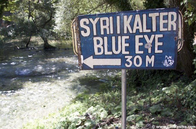 blue eye albania fotos syri i kalter