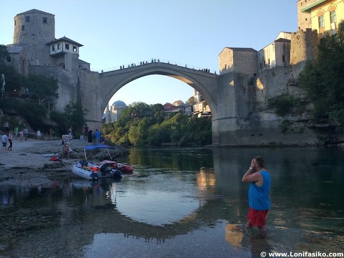 Puente de Mostar en Bosnia