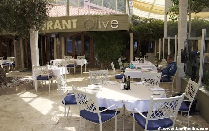Sveti Stefan restaurante Olive Montenegro donde comer Montenegro