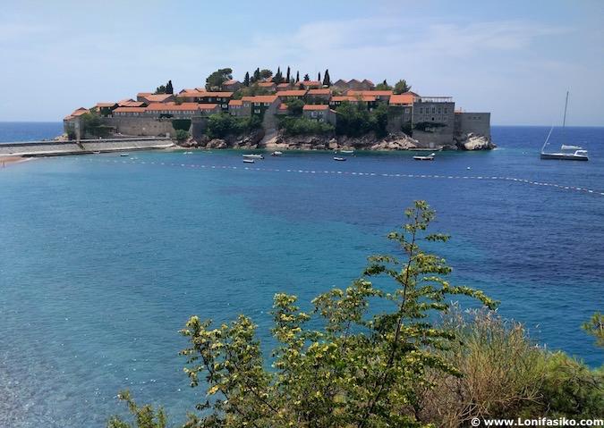 Sveti Stefan hotel Montenegro photos