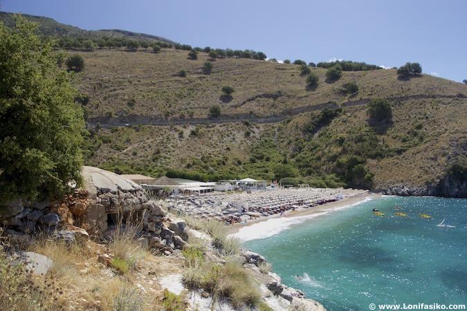 bunkers albania fotos
