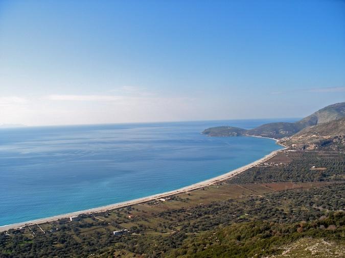 borsh albania playas