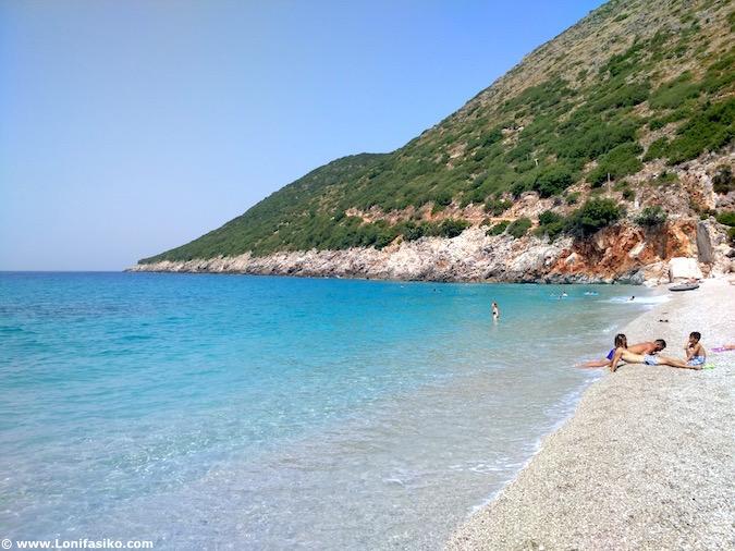 gjipe beach albania playas fotos