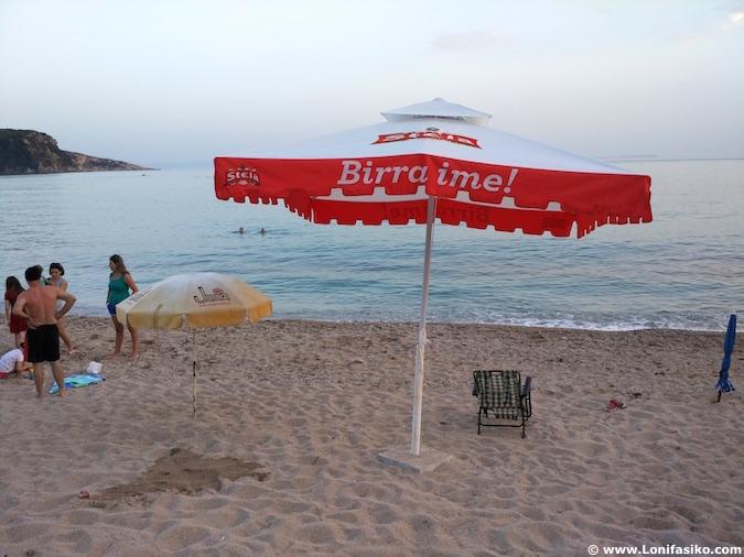 himare playas beach albania riviera albanesa