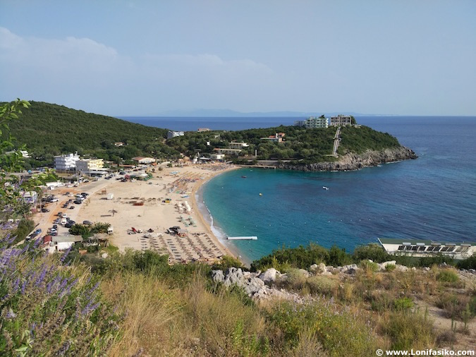Jale beach photos albania riviera albanesa