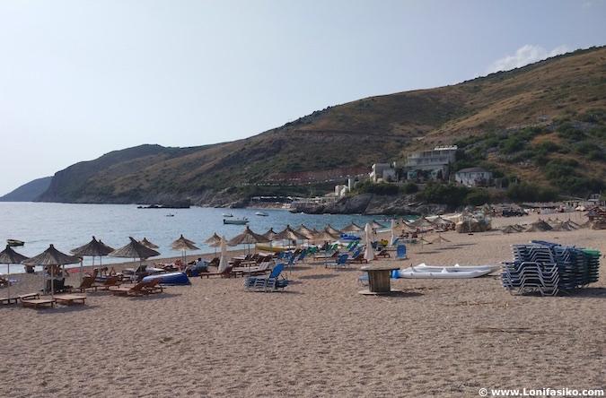 Jale playa beach albania riviera albanesa
