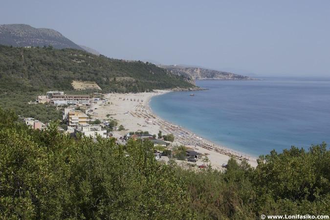 livadhi beach albania playas riviera albanesa